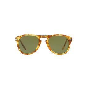 8fdd3293467b1 Óculos Persol Po0714 10614e Estampado Tartaruga Amarelo Len