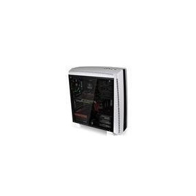 Gabinete Thermaltake Versa N27 White Fan Led Red X3