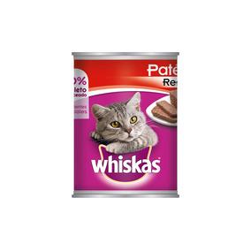 Whiskas Lata Carne De Res Alimento Humedo Gatos Adulto 350gr