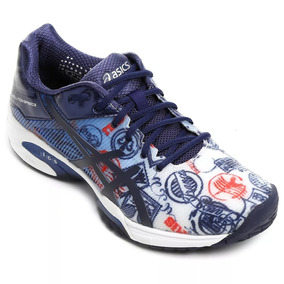 Zapatillas Asics Solution Speed 3 Paris Tenis Talle 46
