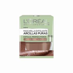 Mascarilla Exfoliante De Arcillas Puras Algas Rojas Loreal