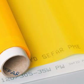 Malla Poliester Serigrafia X Metro 90 Hilos Blanca Amarilla