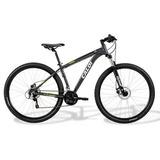 Bicicleta Caloi 29, Aro 29, 21 Marchas, Cinza