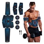 Electro Estimulador Muscular 06 Vak Ems Pro Pad Cintura +abs