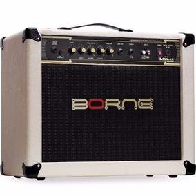 Amplificador Cabeçote Guitarra Borne Vorax 1050 Creme