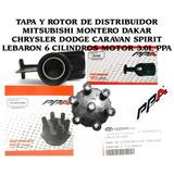 Tapa Y Rotor De Distribuidor Mitsubishi Montero Dakar Chrysl