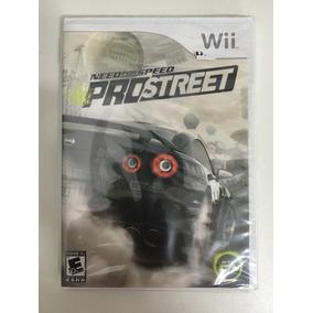 Jogo Need For Speed Pro Street Lacrado Mídia Física Wii