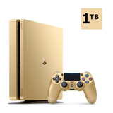 Consola Ps4 Dorada 1tb Edicion Limitada