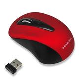 Mouse Ianalmbrico Halion 1000dpi Sensible Rojo C/pilas Aqp
