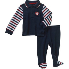Camisa Pantalon Americano Talla 6-9 Meses Envio Gratis