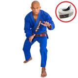 Kimono Jiu Jitsu Red Nose Beginner Azul + Faixa