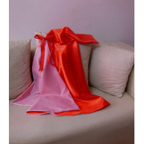 Capa De Caperucita Roja En Raso Forrada
