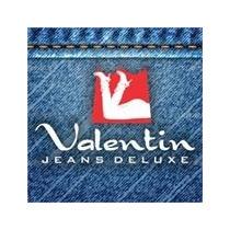Calça Jeans Cintura Alta Marca Valentin