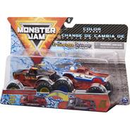 Monster Jam Truck 2 Carros - El Toro Loco Vs Cyclops 1:64