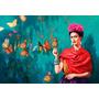 Frida Kahlo Bastidor En Canvas De 140x100 Cm Envio S/c Caba