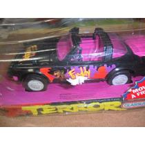 Carro Freddy Terror Original Glasslite Antiguidade