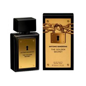 Perfume The Golden Secret 50ml Edt Masculino Antonio Bandera