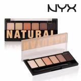 Nyx The Natural Palette - Tns01 Paleta De Sombras Original