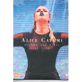 Dvd Alice Caymmi - Rainha Dos Raios Ao Vivo
