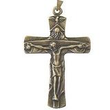 Gran Crucifijo De La Trinidad - Bronce (6.5cm O 2.55...