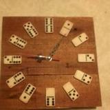 Reloj De Pared Artesanal 30cm X 30cm En Madera De Palet