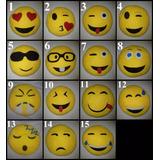 Cojines Emoticones Emoji X 25 Cm X 6 Unidades