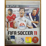 Fifa Soccer 11 - Ps3 Fisico Original Sellado Canje - Rat5