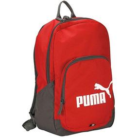 Mochila Puma Phase 073589-10 Rojo Gris Unisex Oi