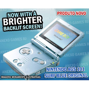 N O V O Na Caixa Game Boy Advance Sp Brighter Ags 101