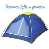 Barraca Iglu Camping Praia Diversão Passeio Sono Quarto Casa