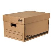 Caja Archivo Super Reforzada Cartón Corrugado X10u 406