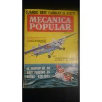 Revista Antigua Mecánica Popular Agosto 1961