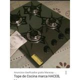 Tope De Cocina A Gas Vitroceramica Haceb