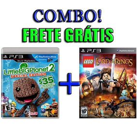 Little Big Planet 2 + Lego The Lord Of The Rings Ps3 Lacrado