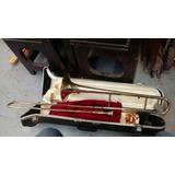 Trombon Yamaha Con Case