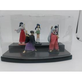 Expositor Inuyasha Set Com 5 Gashapons/action Figures/boneco