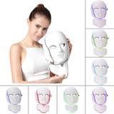 Mascara Facial +cuello 7 Colores Acne Arrugas Resultado Real