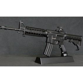 Miniaturas Armas Die Cast 1:6 M4a1 Black Airsoft