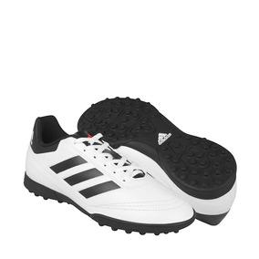 Tenis De Fútbol adidas Para Adolescentes Simipiel Blanco Con