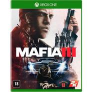 Mafia 3 Xbox One Original Lacrado Mídia Física Português Br