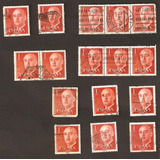 Estampilla España Franco Año 1955 Yvert 864