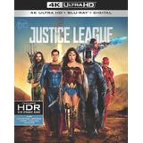 Blu-ray 4k Liga Da Justiça C/ Luva