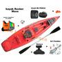 Kayak Rocker Wave + Chaleco + Pita + Silbato + Remo + Caja D