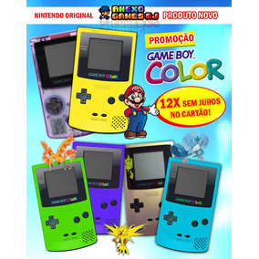 Game Boy Color N O V O Na Caixa, Nintendo Original Gbc Zero