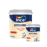 Pintura Para Exteriores Blanco Inca 20 + 4 Litros