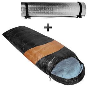 Saco De Dormir Viper + Isolante Térmico Eva Aluminizado Ntk