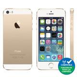 Iphone 5s 16gb, Gold, Grado A Refaccionado+lámina De Vidrio