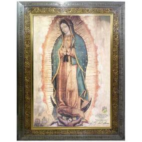 Cuadro Virgen De Guadalupe En Lienzo, 110 X 150 Cm