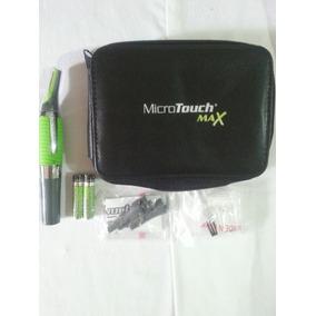 Micro Touch Max + Bolso Con Accesorios