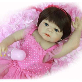 Princesa Boneca Bebê Reborn Victoria Nino Silicone Promoção